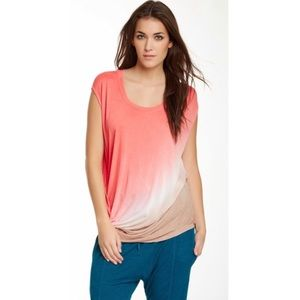 Young Fabulous & Broke Waveny Ombre T-shirt Top